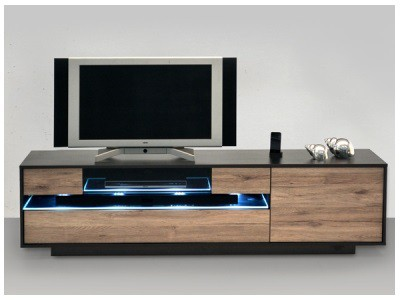 tv lowboard holz modern. Black Bedroom Furniture Sets. Home Design Ideas