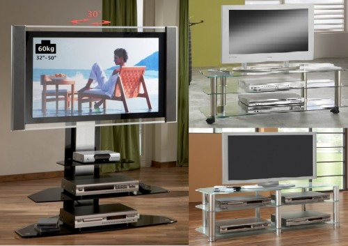 fernseher rack free tvhalterung bild tv wand hn schwarz hochglanz tv rack lcd inkl tv with. Black Bedroom Furniture Sets. Home Design Ideas
